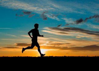 утренний бег дает заряд бодрости