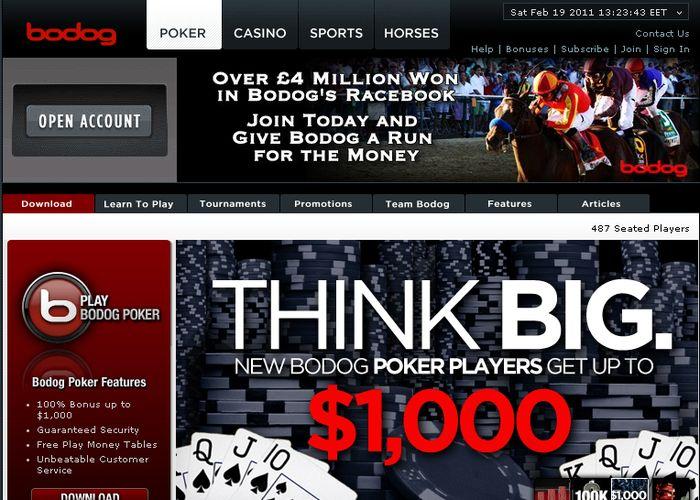 Обзор покер-рума Bodog Poker